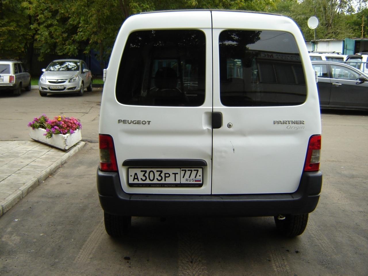 peugeot partner 19 дизель 2008 года отзывы