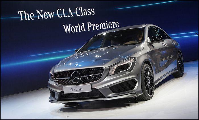 Четырехдверное купе Mercedes-Benz CLA может дебютировать в Детройте 76
