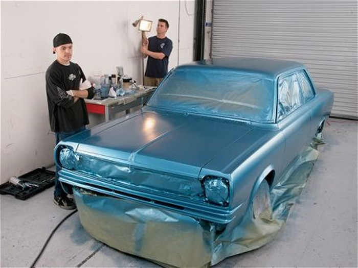 Какой краской красить машину