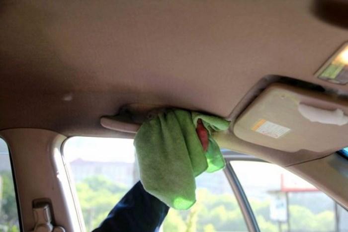 Химчистка потолка своими руками