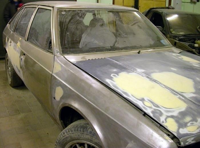 Подготовка кузова автомобиля к покраске своими руками видео