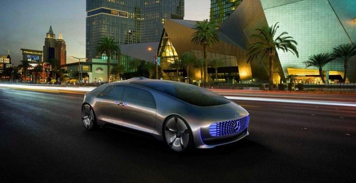 Автомобиль из будущего – автономный прототип Mercedes-Benz F 015 Luxury in Motion