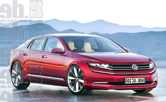 Новый Volkswagen Phaeton