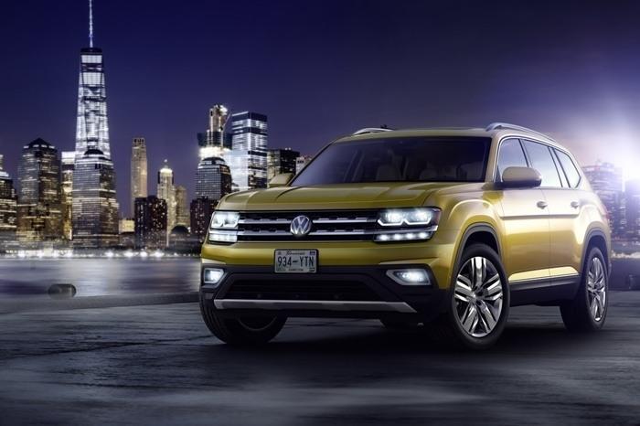 Китайский родственник Atlas: VW G-SUV