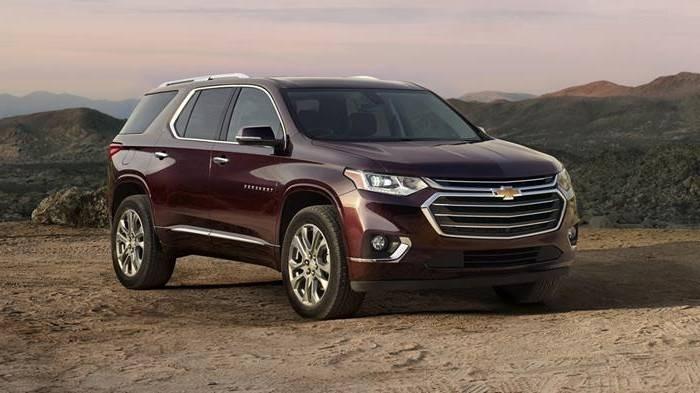 Новый Chevrolet Traverse стал больше Tahoe