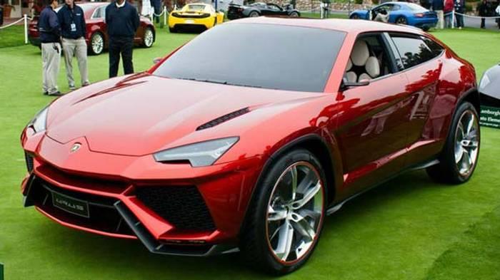 Суперкроссовер Lamborghini Urus: уже внынешнем году