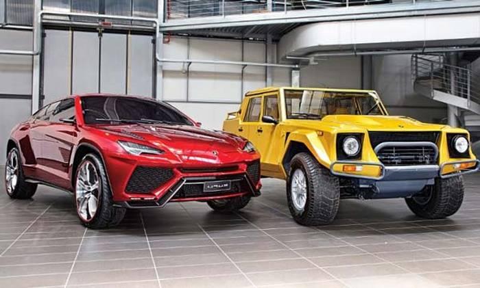 Lamborghini выпустит новый кроссовер Urus уже в этом 2017-ом — Дань моде