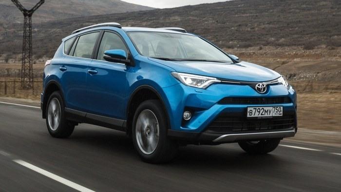 В Российской Федерации вначале лета упали вцене автомобили Тойота