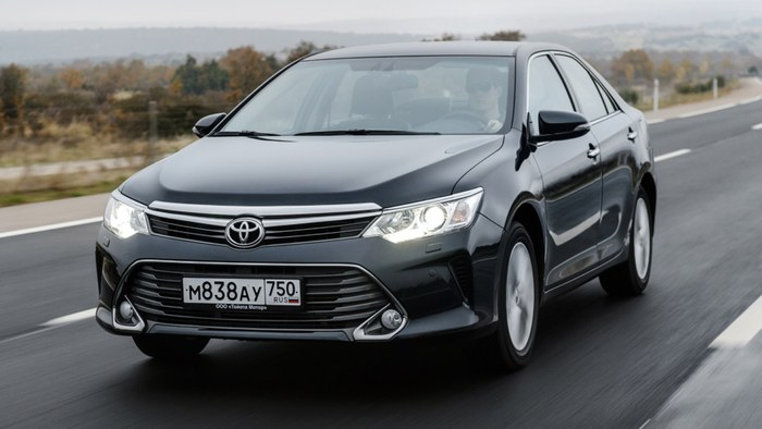 Тоёта снизила цены в Российской Федерации намодели Camry, Corolla иRAV4