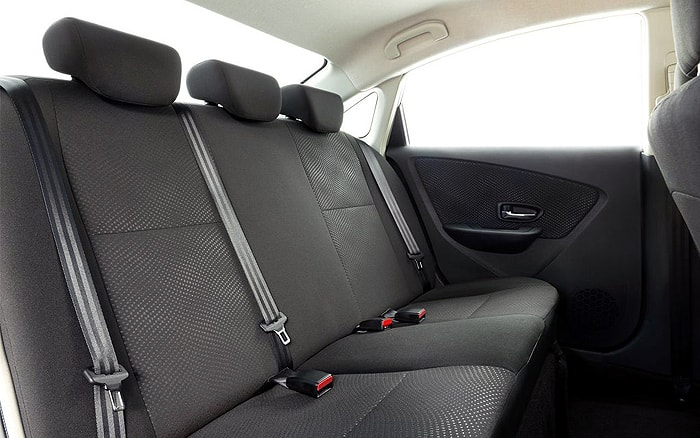 Задние сидения Nissan Almera