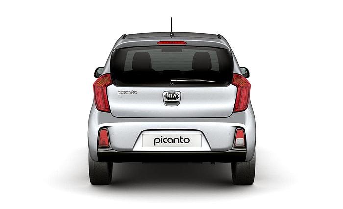 Вид сзади Kia Picanto