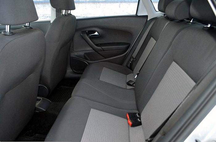 Задние сидения Volkswagen Polo