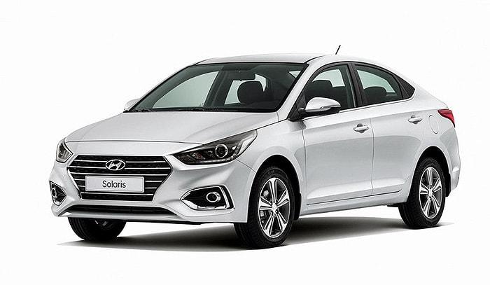 Бюджетный недорогой автомобиль Hyundai Solaris