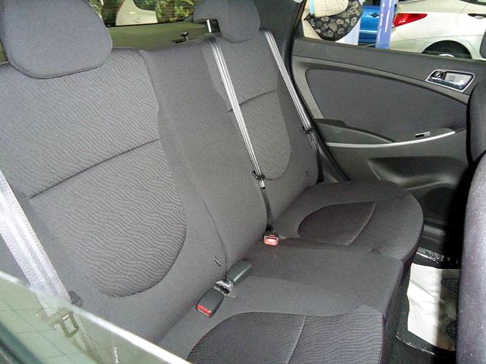 Задние сидения Hyundai Solaris