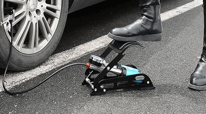 Механический ножной автонасос