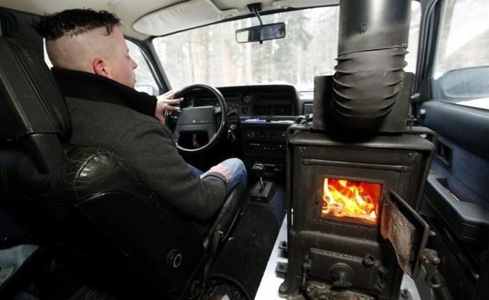 не греет печка авто .